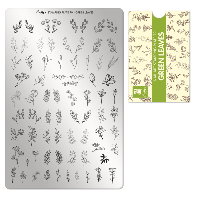 Moyra | Green Leaves | MP79