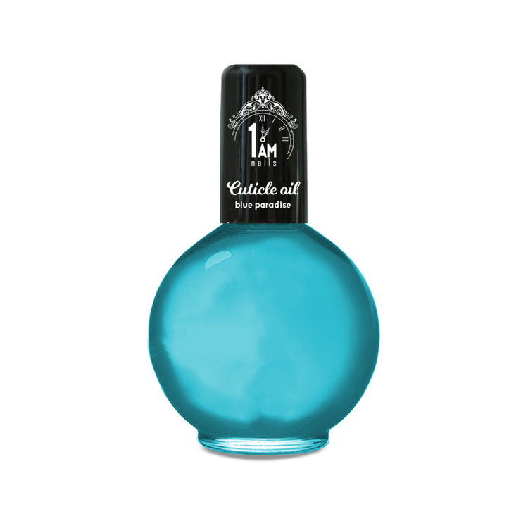 1 AM | Nagelriemolie 75ml | Blue Paradise