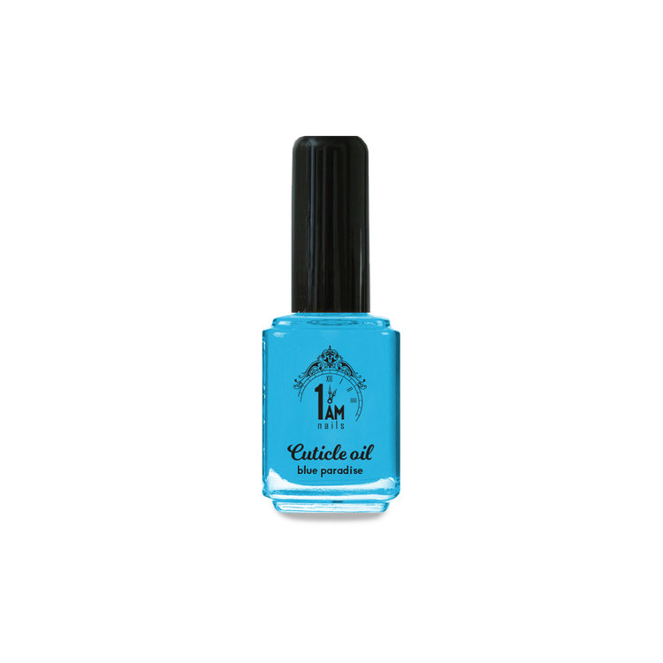 1 AM | Nagelriemolie 15ml | Blue Paradise