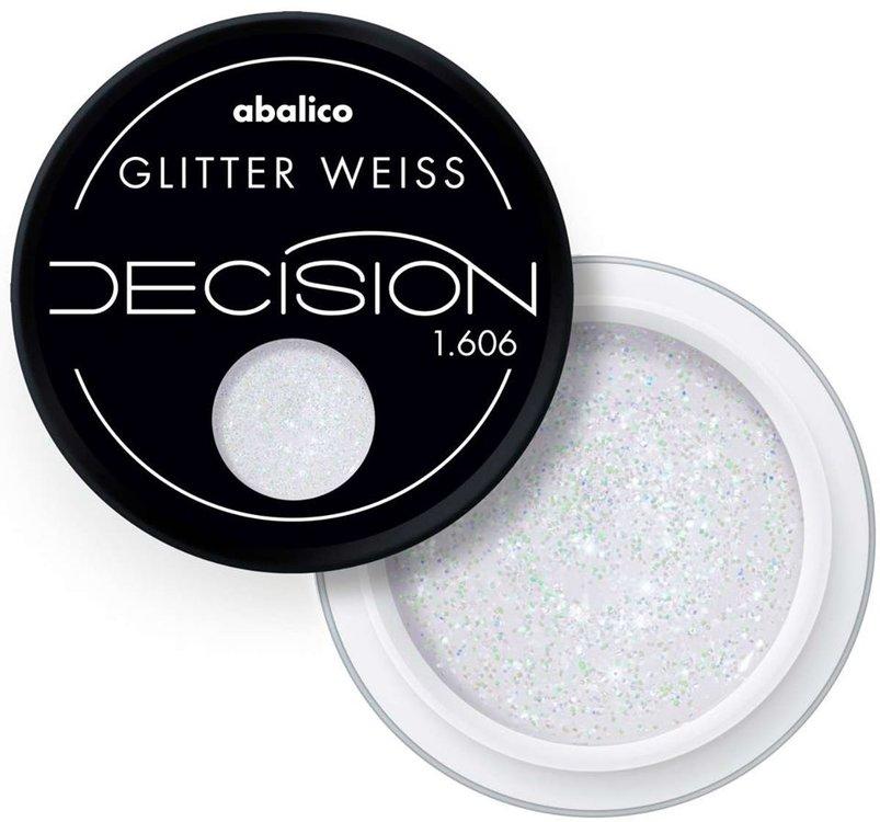 1606 | Glitter Weiss