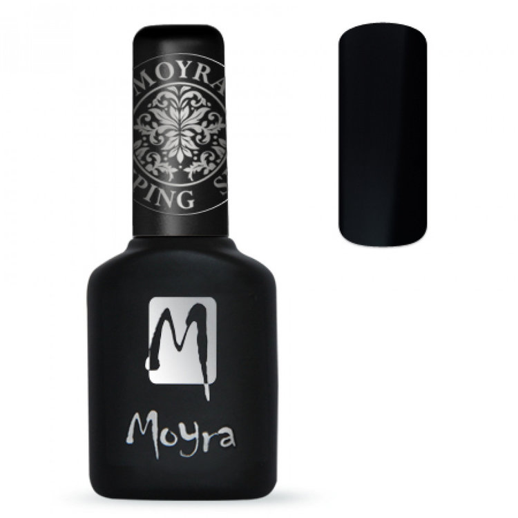 Moyra | Foil Polish | FP 01 Black