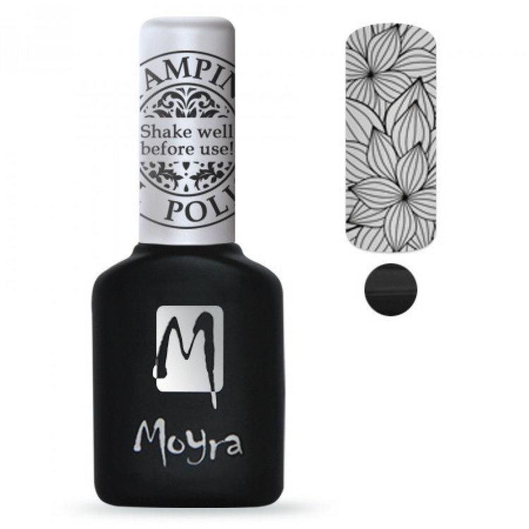 Moyra | Gel polish | SGP 01 Black