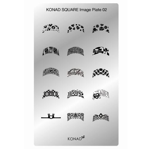Konad | Plate 02