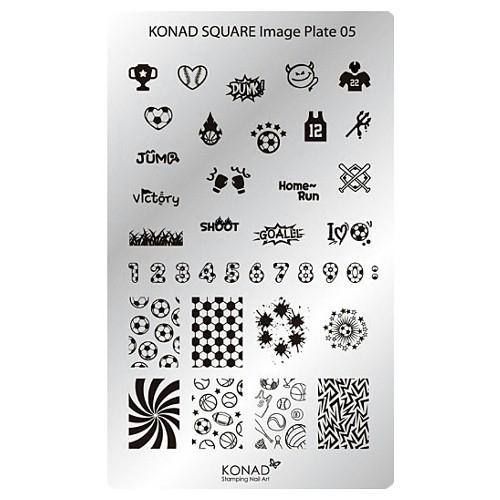 Konad | Plate 05