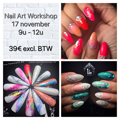 Workshop | Nail Art All In | An Sinnaeve | 17 november