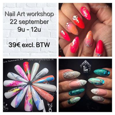 Workshop | Nail Art All In | An Sinnaeve | 22 september