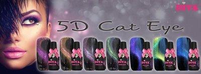 5D Cateye   7-delige collectie   gratis magneet
