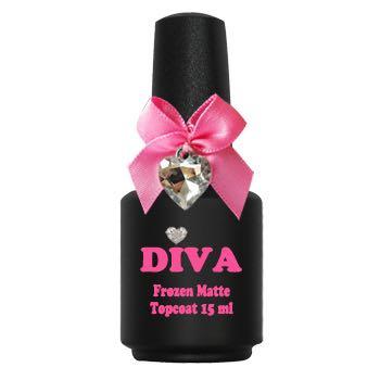 Diva Frozen | Super Matte Topcoat | Zonder plaklaag