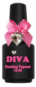 Diva UV Dazzling Topcoat zonder plaklaag