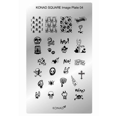 Konad | Plate 04