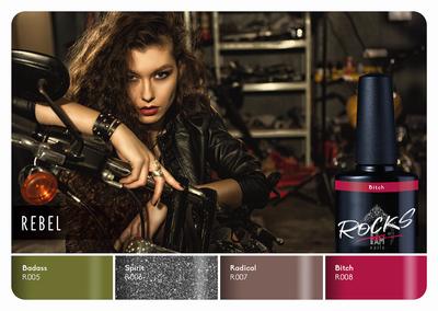 Rebel | Collection + gratis glitter